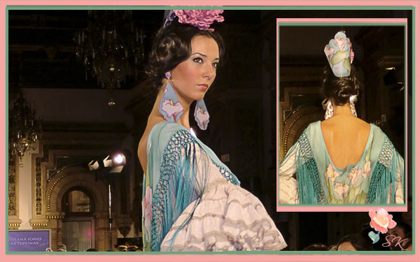 Artepeinas con Arroyos de seda en We Love Flamenco