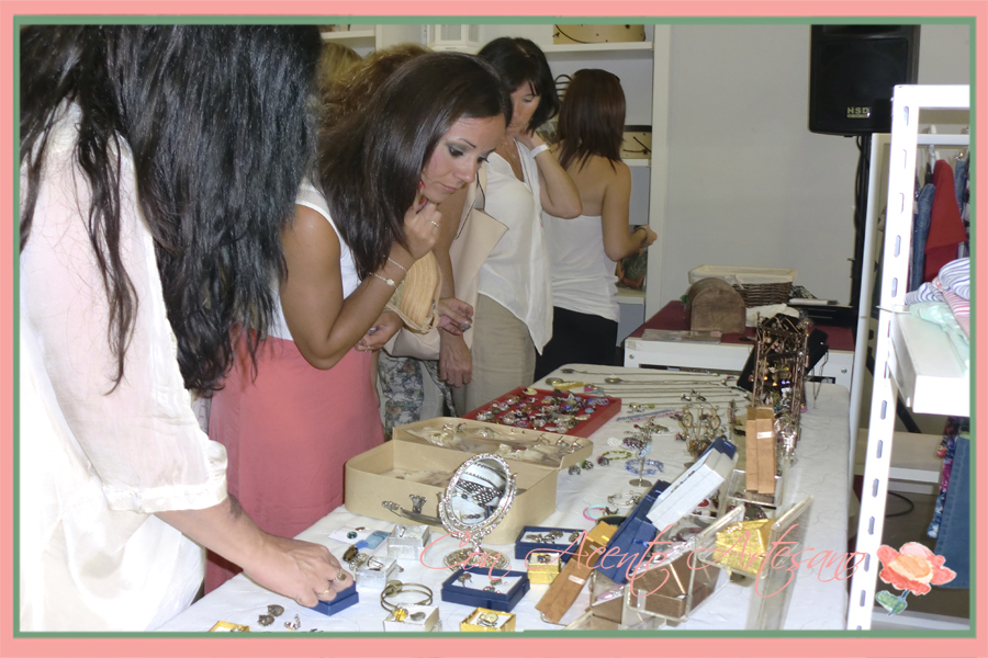 Visitantes en Showroom Fashion Cadiz de Arte