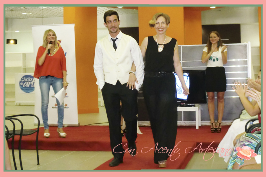 Desfile Silviadoras en Showroom Fashion Cádiz de Arte