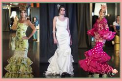 Angela Campos y sus trajes de flamenca y novias en la Pasarela Fusión Madrid