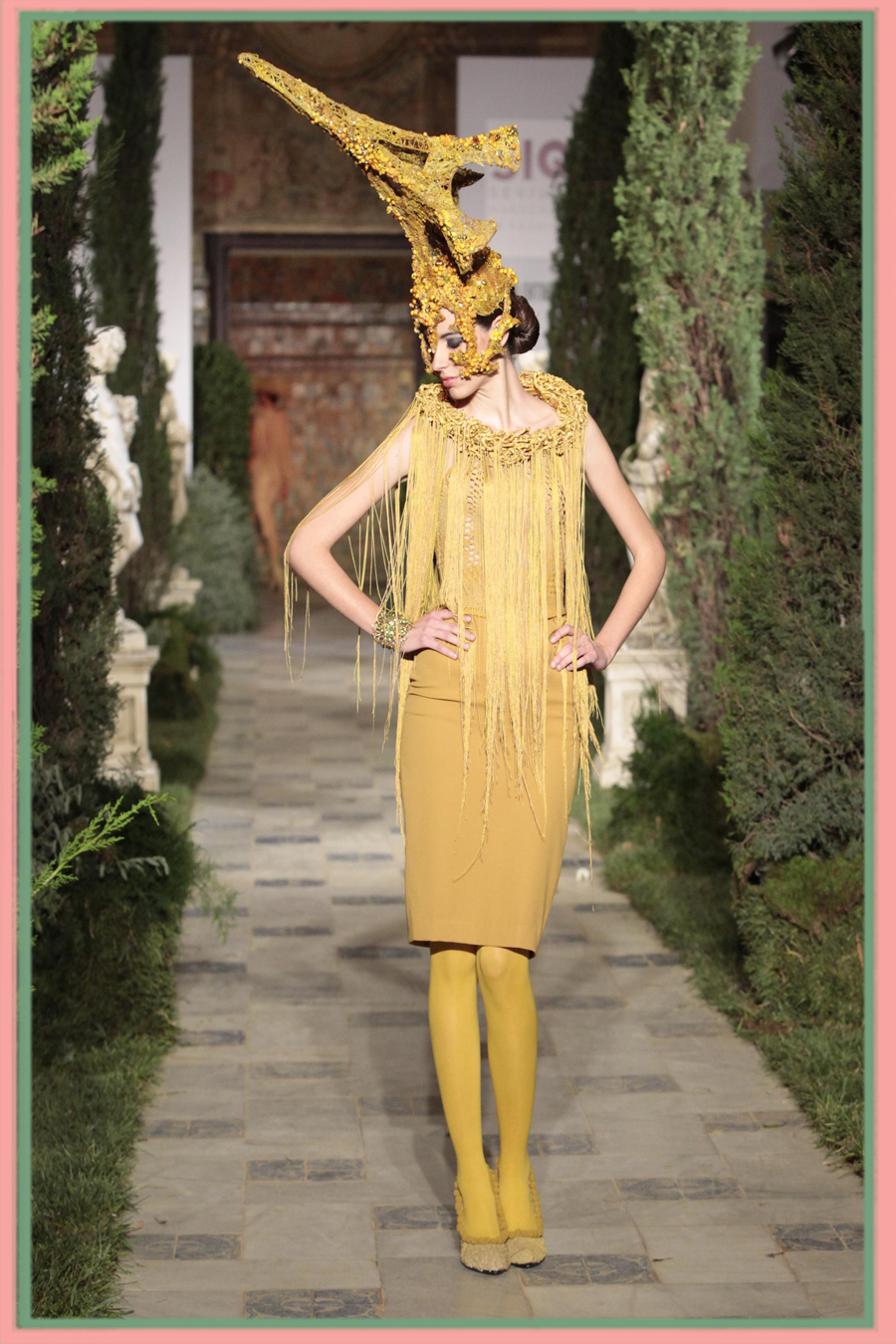 Tolentino en la pasarela SIQ, Handcraft and Fashion, Sevilla