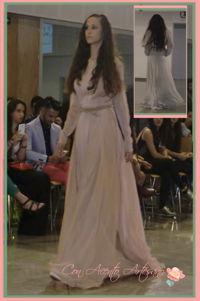 Vestido largo de Felipe Duque en MOVE 2014