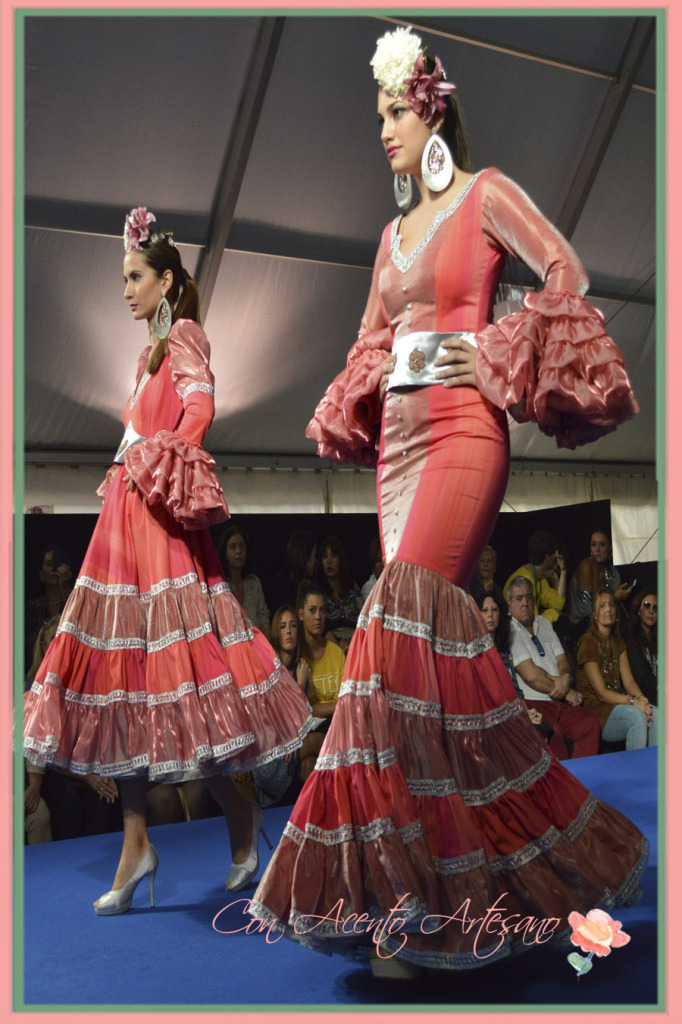 Vestidos de flamenca de Jose Antoniio Peinado finalistas en We Love Flamenco