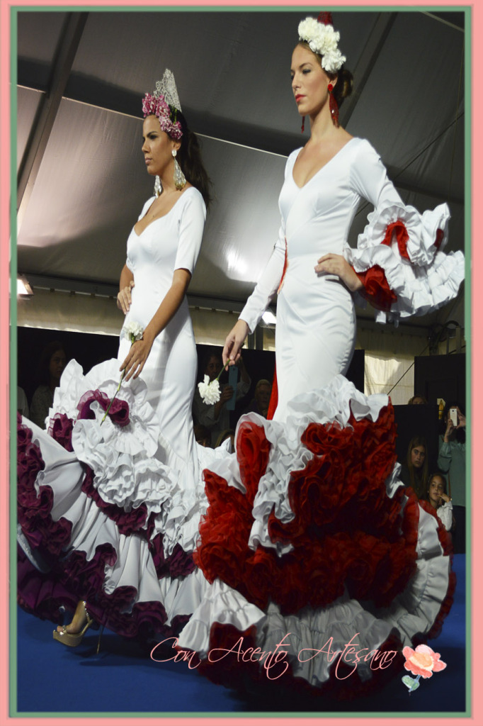 Vestidos flamenca de Angel Corrales finalista novel de We Love Flamenco