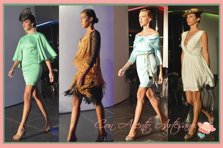 Amalgama Elegant de Maria Jose Collantes en Pasarela del Sur 2014