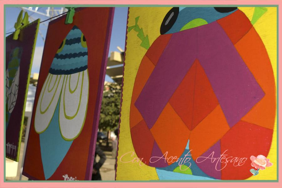 Tablas pintadas a mano de Teresilla en Gran Soho Alameda