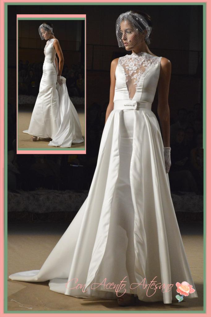 Vestido de novia Guilleremo Ramirez en Novias del Sur, Sevilla de Boda 2014