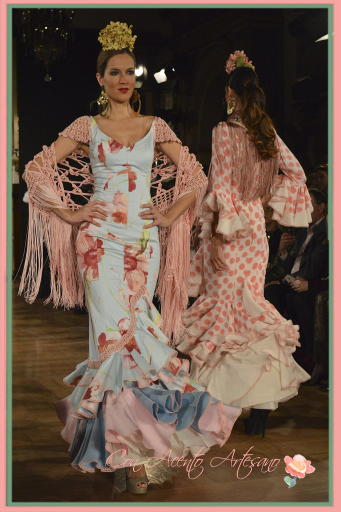 Noelia Margoton vistiendo de Angeles Verano en We Love Flamenco 2015