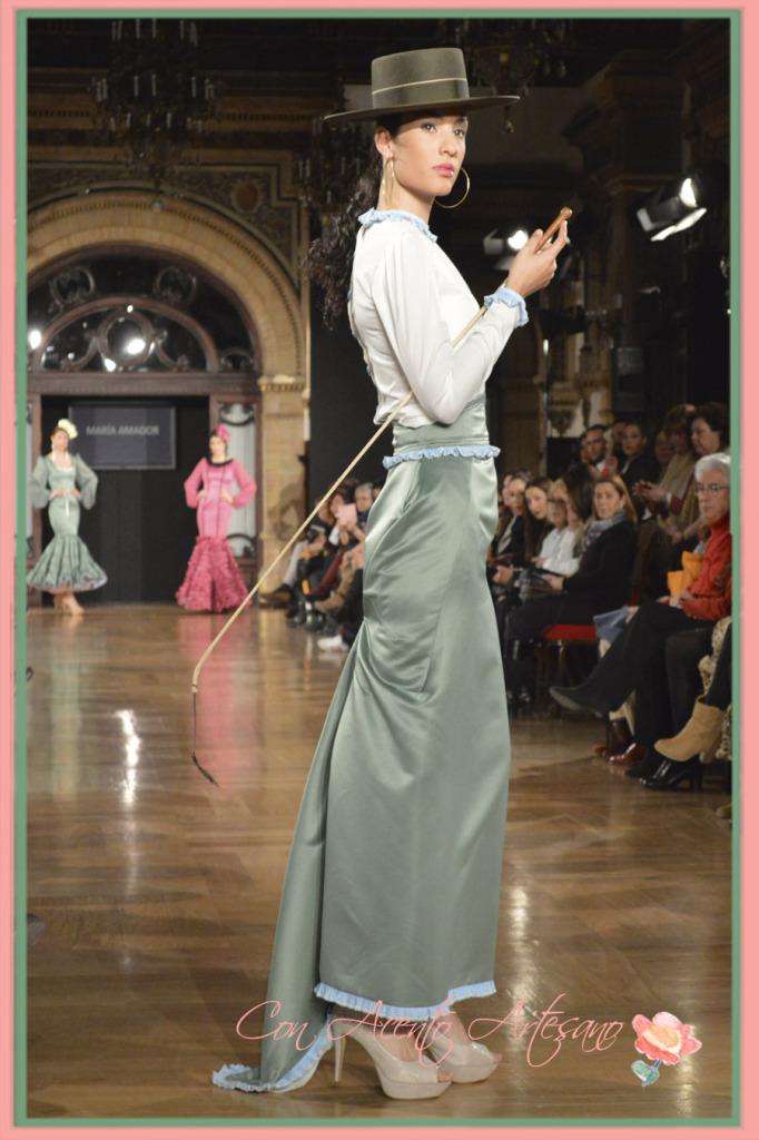 Amazona de Maria Amador en We Love Flamenco 2015 Concurso Noveles