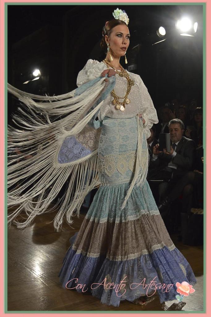 Camisa y canastero de El Ajoli en We Love Flamenco 2015