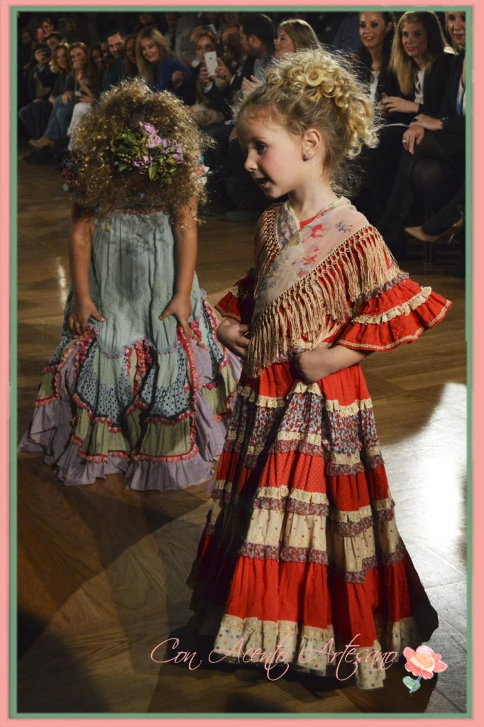 Trajes de flamenca para nenas de Angela y Adela en We Love Flamenco 2015