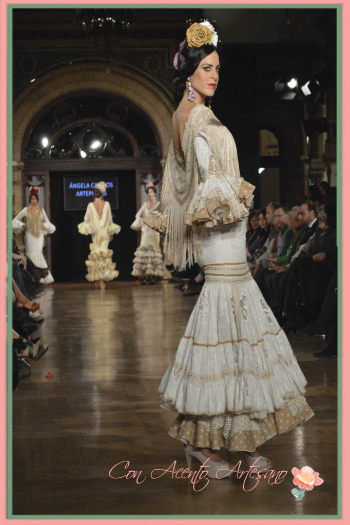 Coleccion Sensaciones de Angela Campos en We Love Flamenco 2015