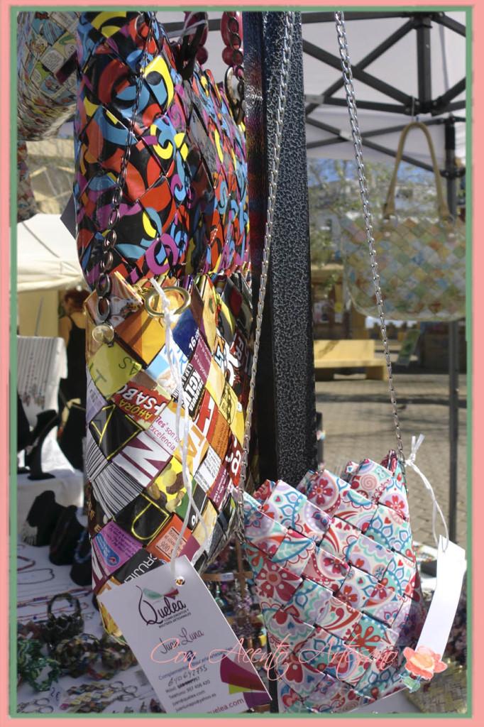 Bolsos de papel de Quelea Complementos en el Gran Soho Alameda