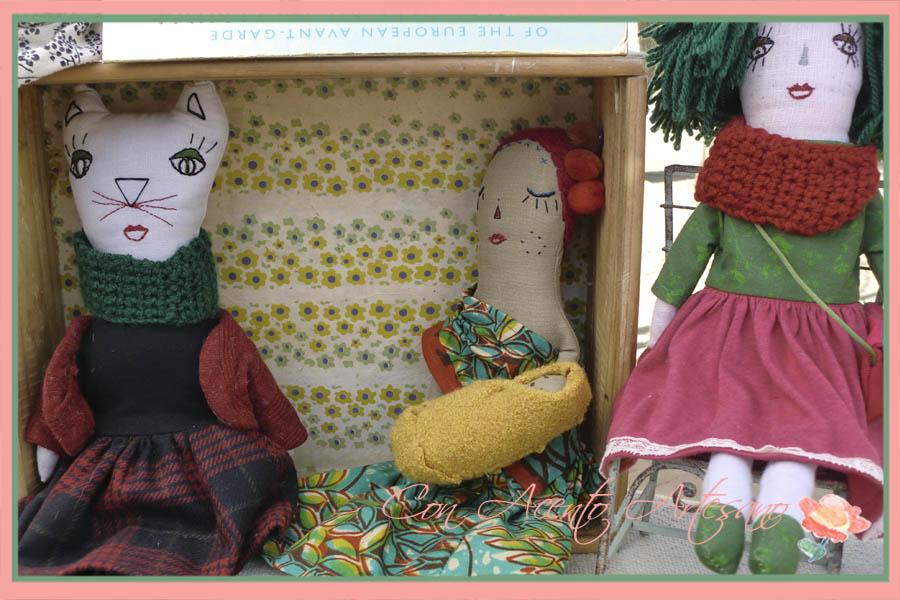 Muñecas de trapo de Hisabelia en Gran Soho Alameda
