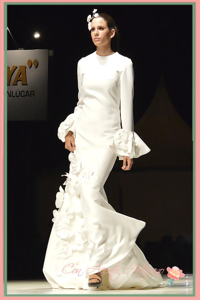 Vestido novia de corte sirena de Juana Martin