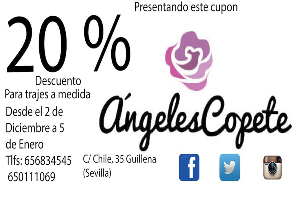 Cupon descuento Angeles Copete