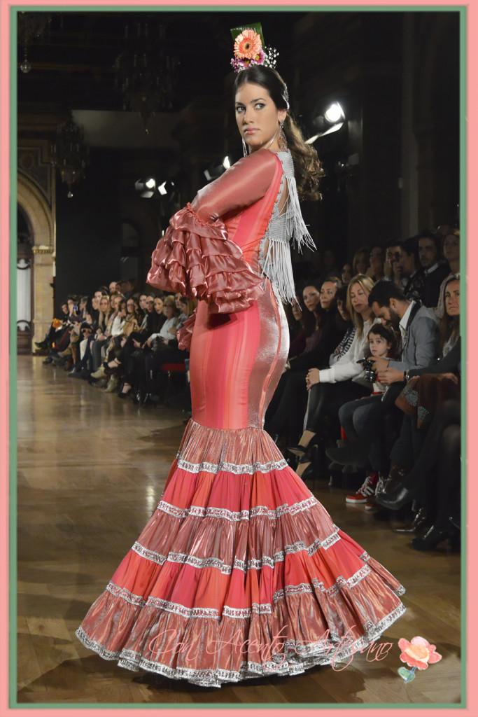 Traje de flamenca de Angeles Copete
