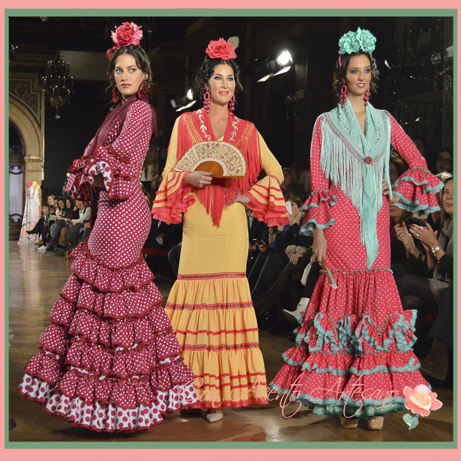 Colección Pinta Flamencas de Fabiola en We Love Flamenco 2015