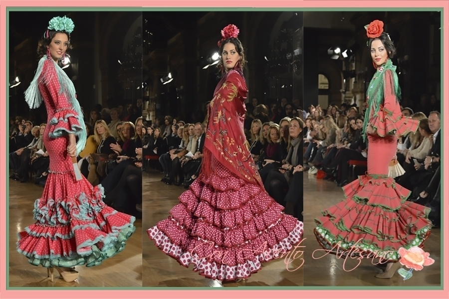 Trajes de flamenca de Fabiola en We Love Flamenco 2015