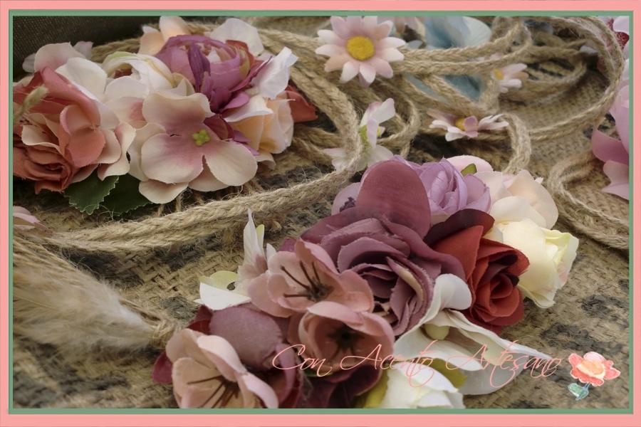 Cinturones de flores de Aurora Cottan en Gran Soho Alameda