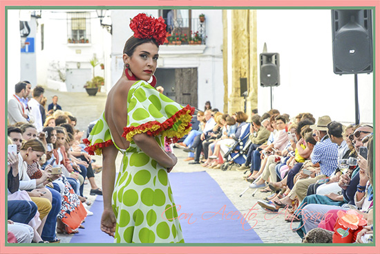 Trajes de flamenca de Carmen Fitz en Vejer Flamenco