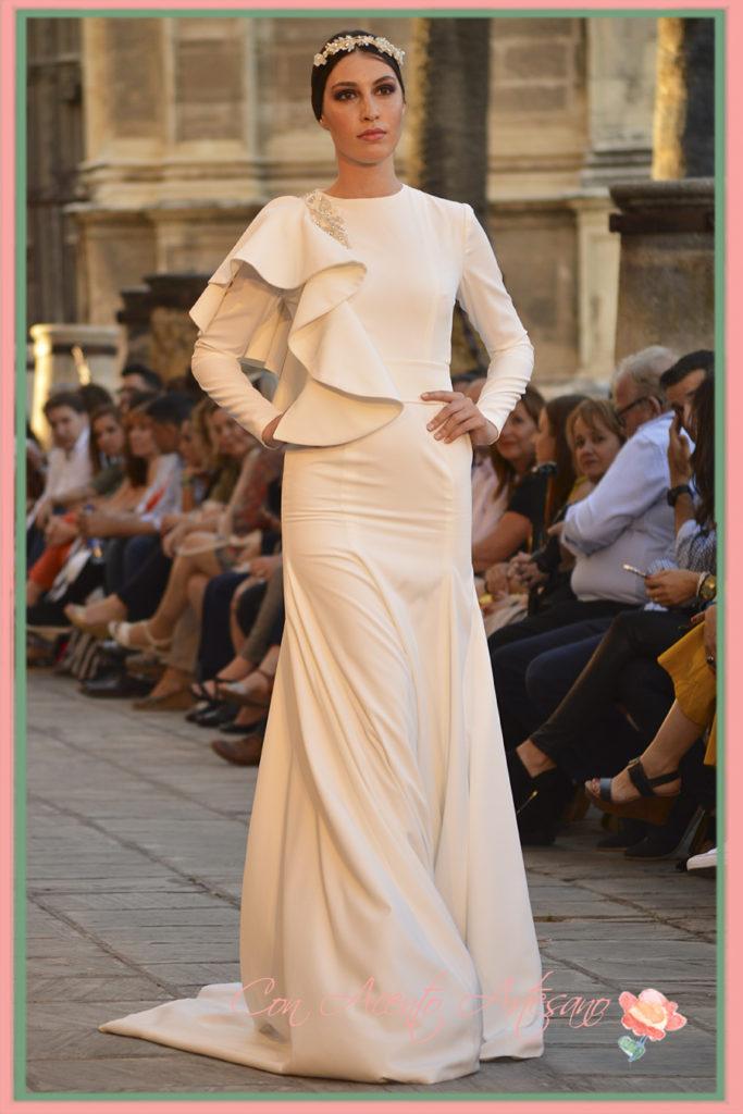 Vestido de novia de Ernesto Sillero en SIQ 2016