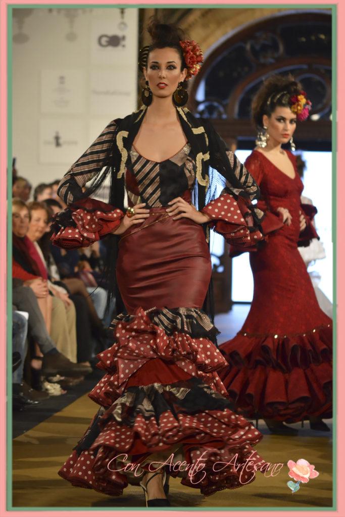 Piel aflamencada de Lola Azahares en We Love Flamenco