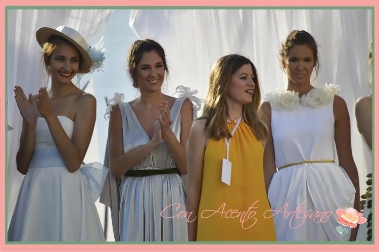 Nazaret Nieto y su colección 'Olor a primavera' en la Sherry Fashion Week