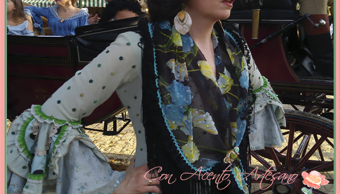 Traje de flamenca vintage