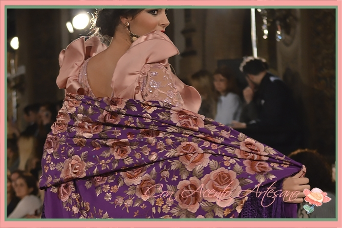 Mantón bordado de Foronda en We Love Flamenco 2018