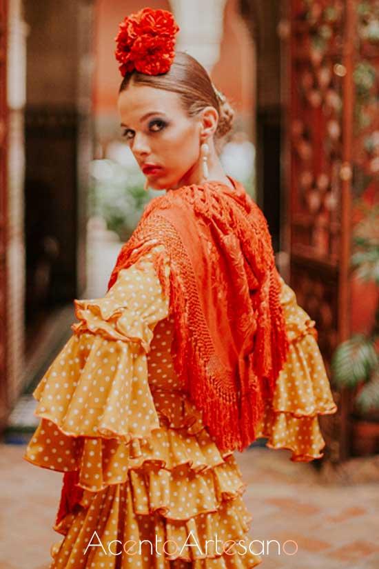 Traje de flamenca de Rocío Olmedo