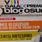 Acento Artesano Premio Blogosur al Mejor Blog de Moda 2018