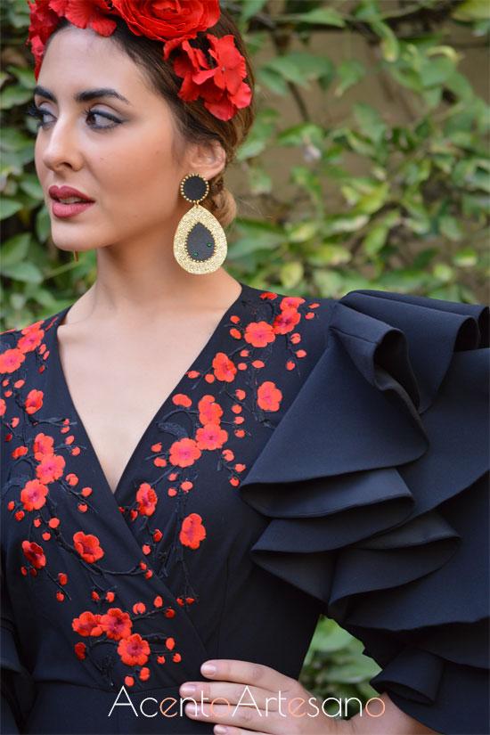 Traje de flamenca de Ángeles Gálvez