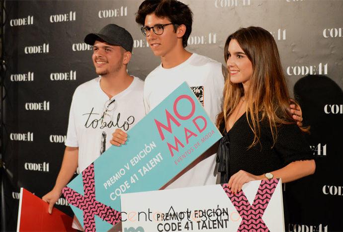 Eder Aurre, Álvaro Calafat y María Vera ganadores última edición de Code 41 Talent