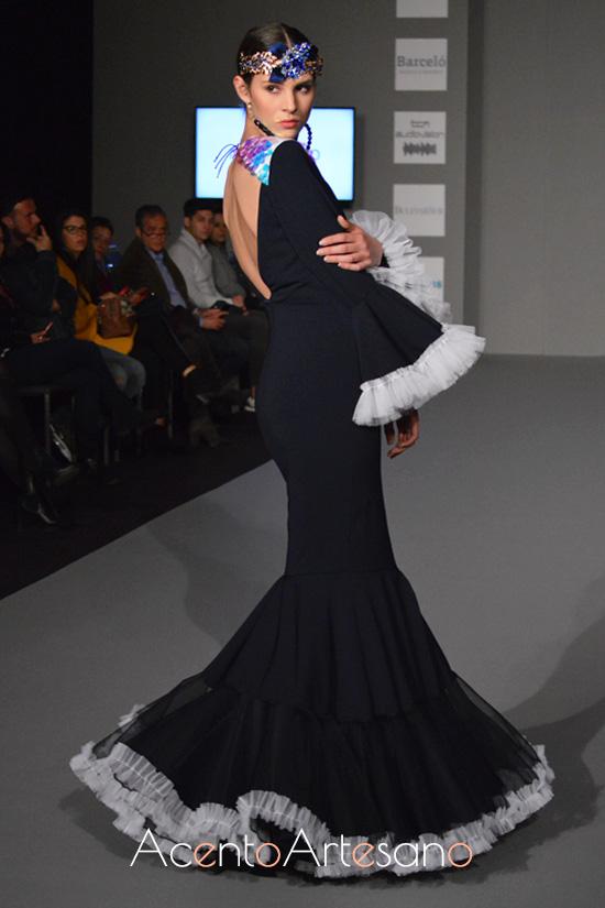 Traje de flamenca en Inma Benicio en Olé Olá SIMOF