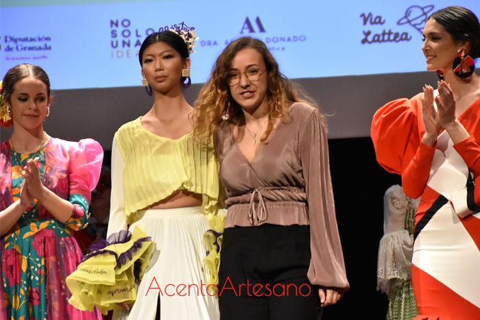 María Zapata ganadora certamen noveles Pasarela Flamenca Granada 2020
